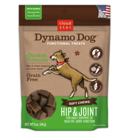 Cloud Star Dynamo Dog Hip & Joint Chicken 5oz