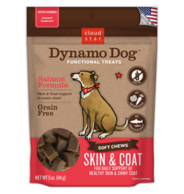 Cloud Star Dynamo Dog Skin & Coat Salmon 5oz