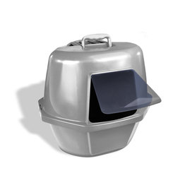 Van Ness Enclosed Corner Litter Pan Large