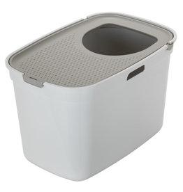 Moderna Top Entry Litter Box White