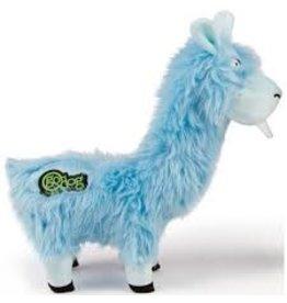 GoDog Bucktooth Llama Blue Large