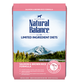 Natural Balance Salmon & Brown Rice 26lb