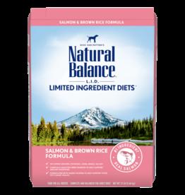 Natural Balance Salmon & Brown Rice 26lb