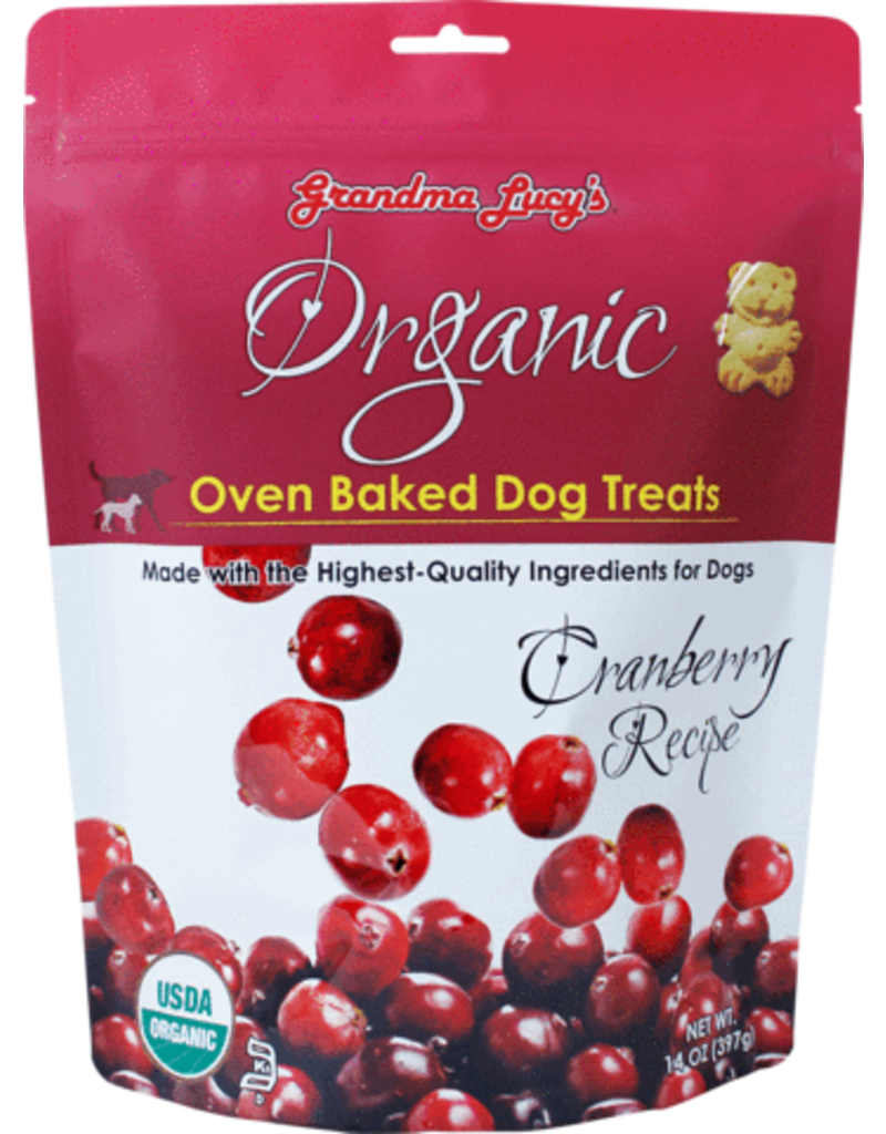 Grandma Lucy's Organic Oven Baked Cranberry 14oz