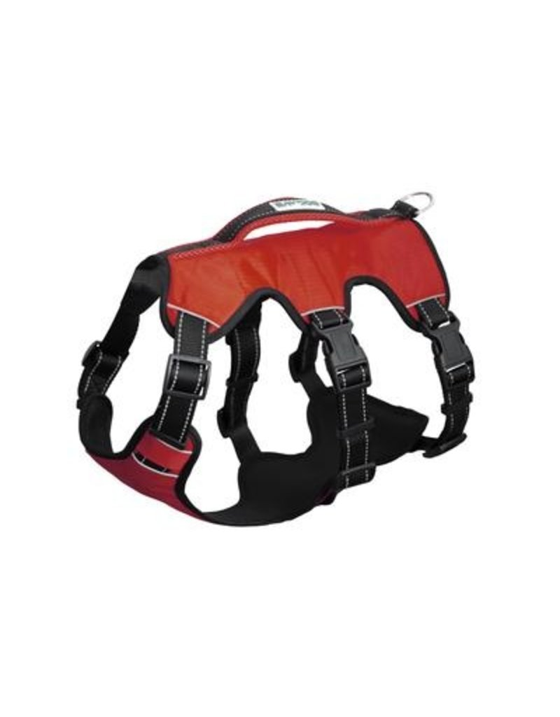 Bay Dog Galveston Bay Harness Red Medium