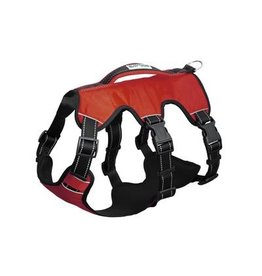 Bay Dog Galveston Bay Harness Red Large