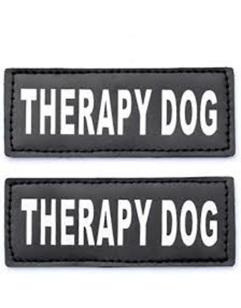Bay Dog THERAPY DOG Patch Small