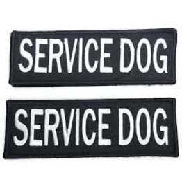 Bay Dog SERVICE DOG Patch Small