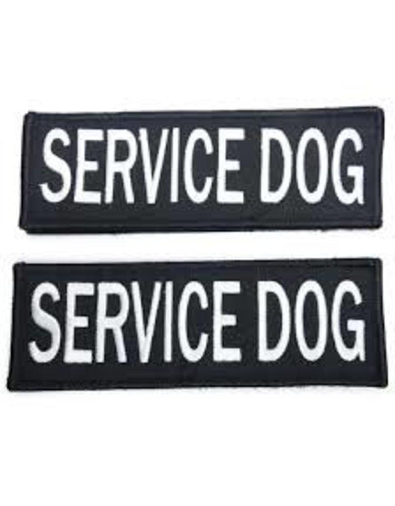 Bay Dog SERVICE DOG Patch Large