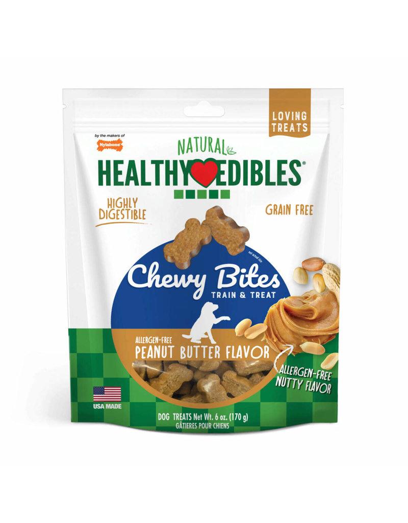 Nylabone Healthy Edible Bites Peanut Butter 6oz