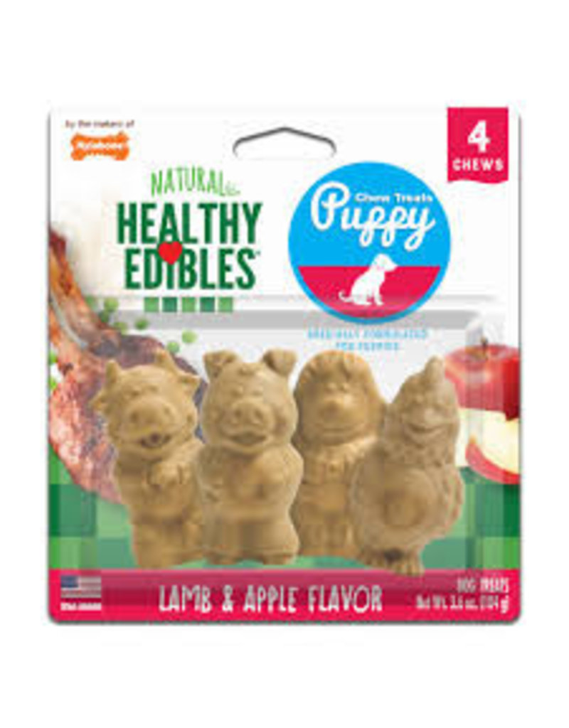 Nylabone Healthy Edible Pup Pals 4ct