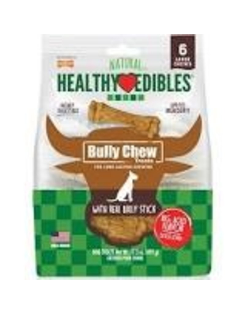 Nylabone Healthy Edibles Bully Chews Large 6ct