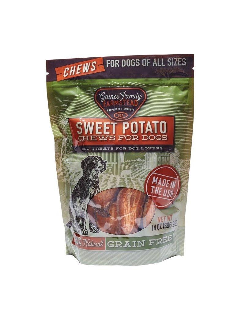 Gaines Family Farmstead Sweet Potato Chews 14oz