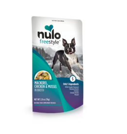 Nulo Freestyle Mackerel Chicken & Mussel in Broth 2.8oz