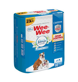 Wee-Wee Pee Pads with Febreeze 10ct