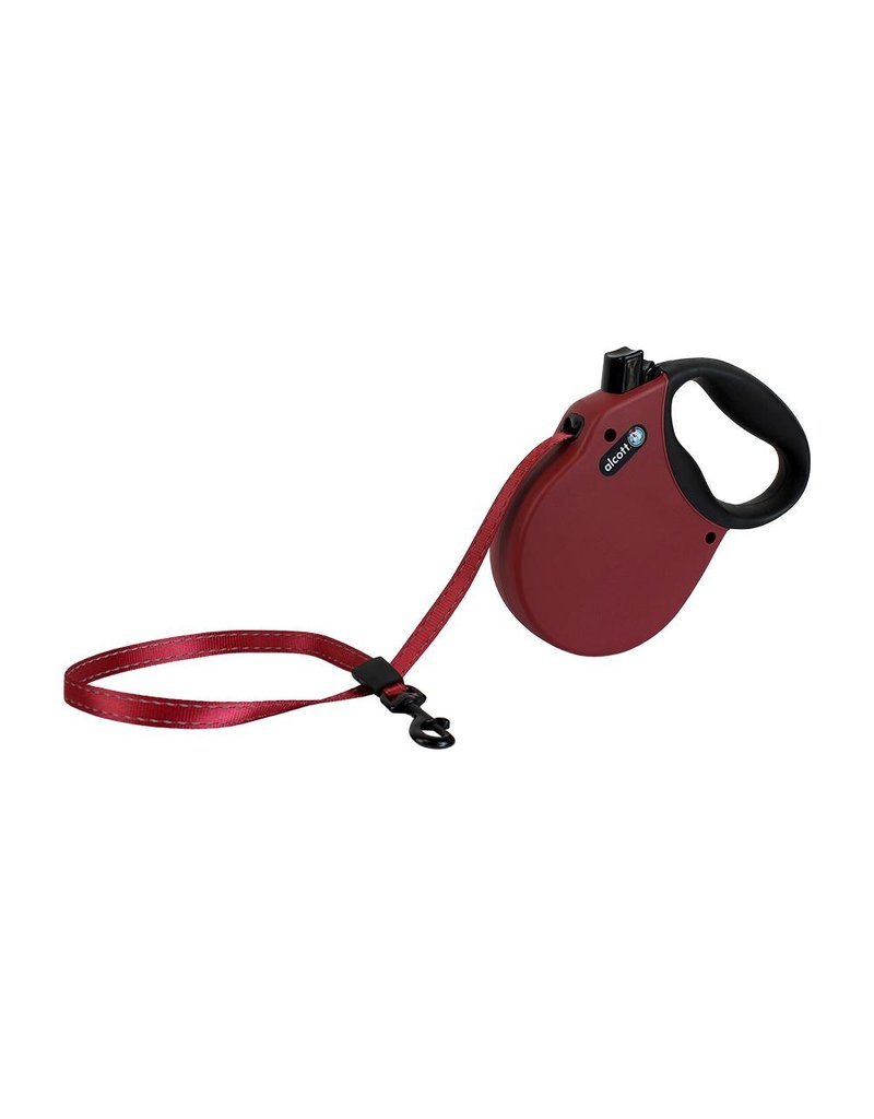 Alcott Adventure Retractable Leash Red Small
