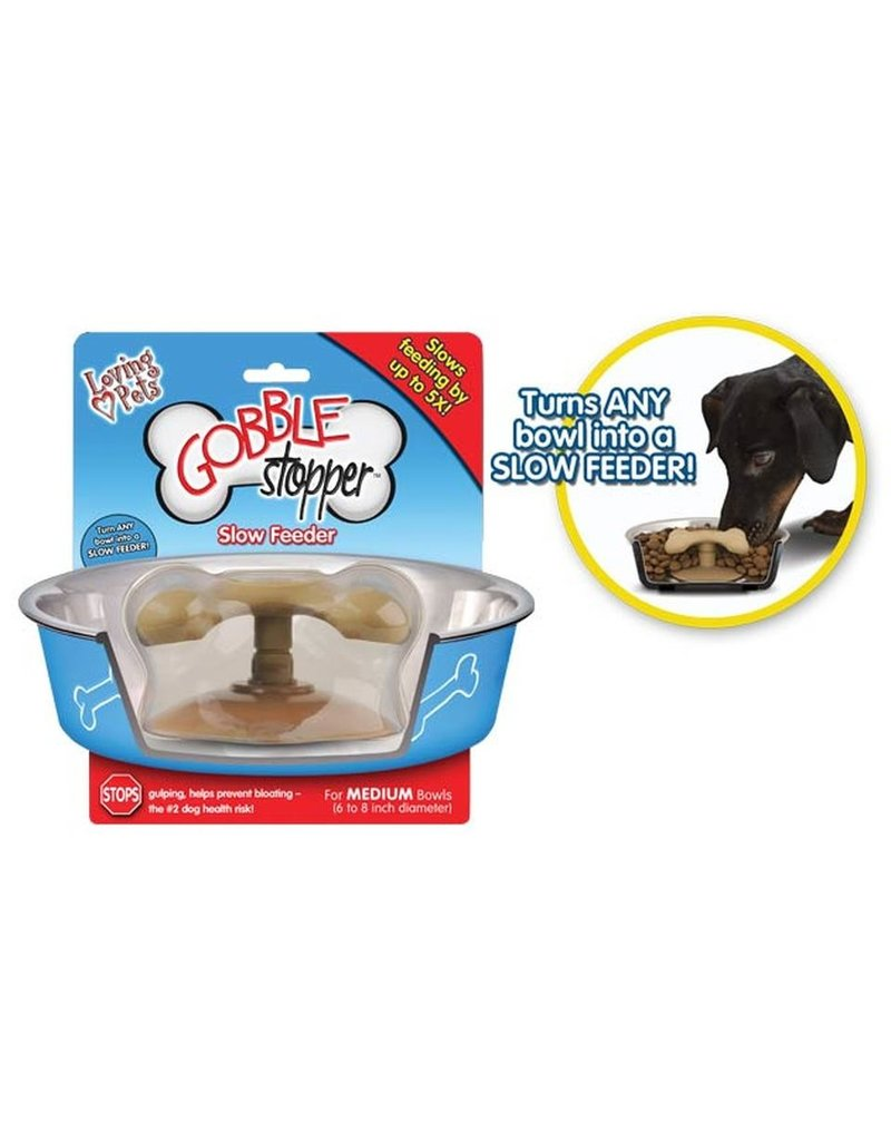 Loving Pets GobbleStopper Slow Feeder Medium