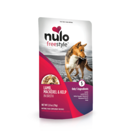 Nulo Freestyle Lamb, Mackerel & Kelp in Broth 2.8oz