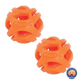 Chuckit! Breathe Right Fetch Ball Medium 2pk