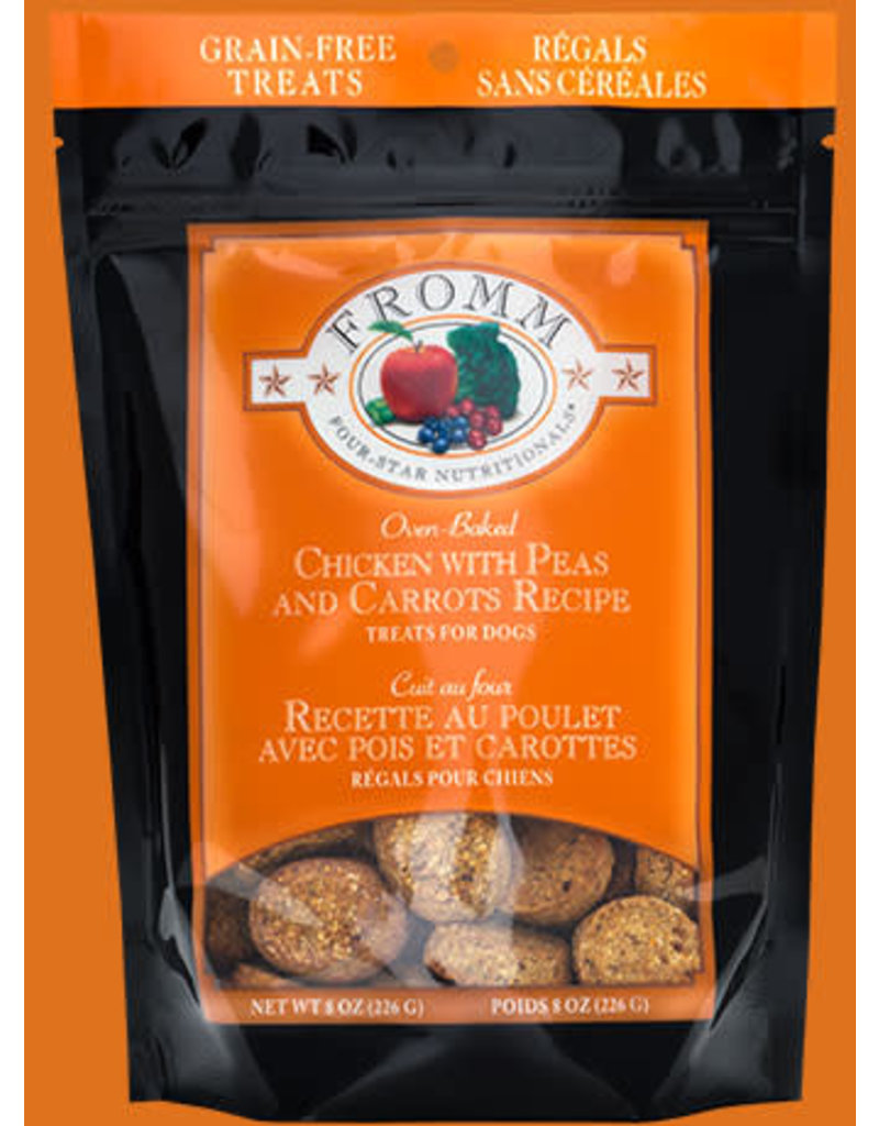 Fromm Oven Baked Treats Chicken with Peas & Carrots 8oz