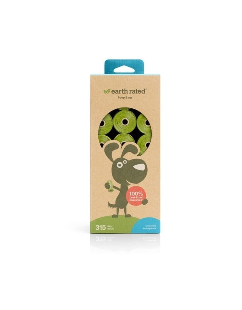 Earthrated Poop Bags Unscented 315ct