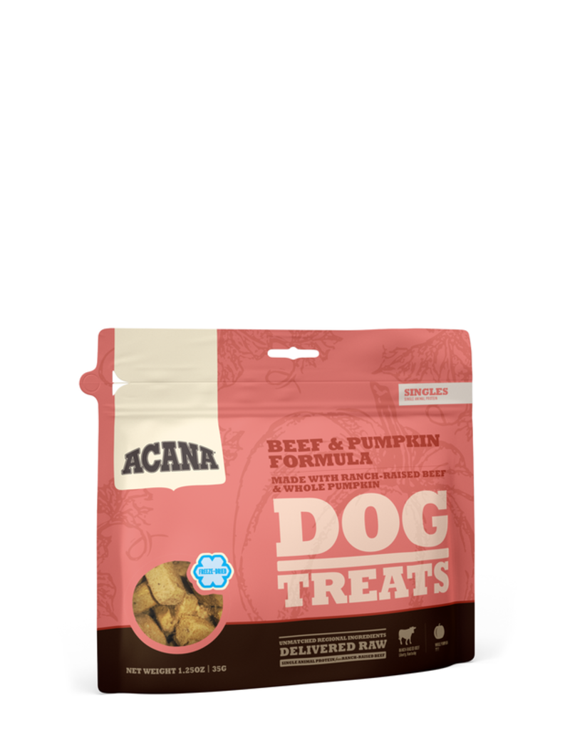 Acana Beef & Pumpkin Treats  3.25 oz