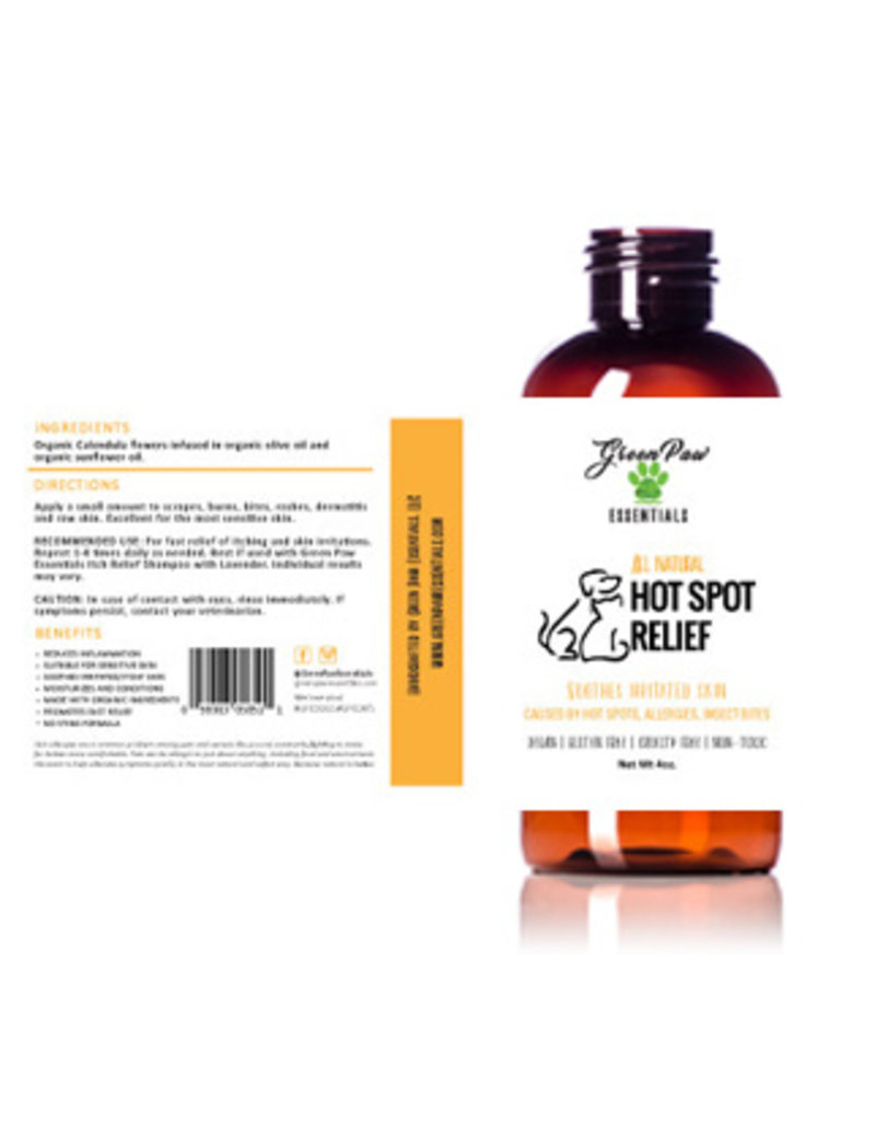 Green Paw Essentials All Natural Hot Spot Relief 4oz