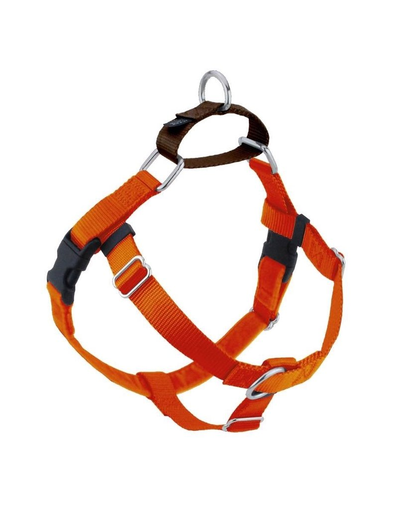 2 Hounds Freedom Harness M Rust