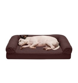 FurHaven Quilted Sofa Bed - Medium - Coffee