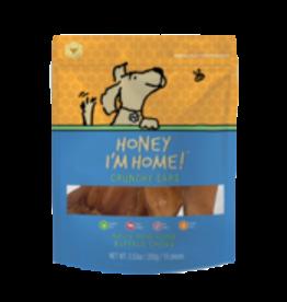 Honey I'm Home Honey Coated Buffalo Ear 10ct