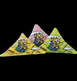 Yeowww Purr-Muda Triangle Yellow