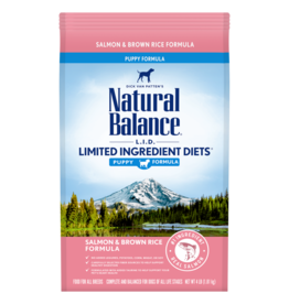 Natural Balance Salmon & Brown Rice Puppy 4lb
