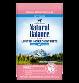 Natural Balance Salmon & Brown Rice Puppy 4lb