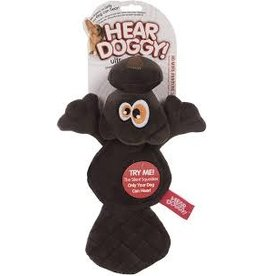 Hear Doggy! Flat Beaver with Silent Squeaker