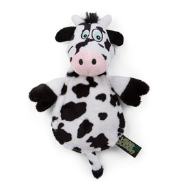 Hear Doggy! Flat Cow with Silent Squeaker
