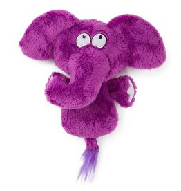 Hear Doggy! Flat Elephant with Silent Squeaker Small