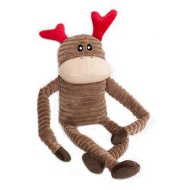 Zippy Paws Crinkle Reindeer Large