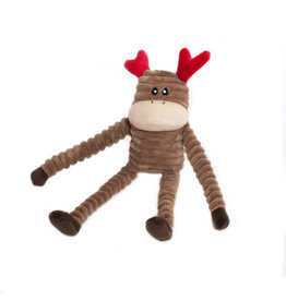 Zippy Paws Crinkle Reindeer Small