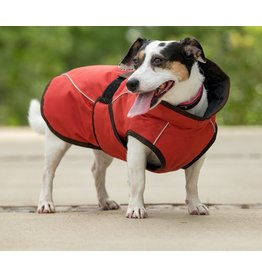 Fits Riding Dog Coat Berry Orange Medium