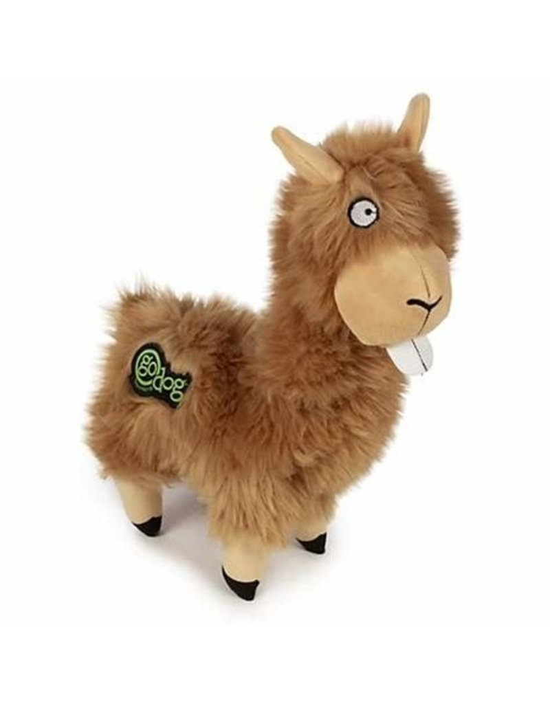 GoDog Bucktooth Llama Brown