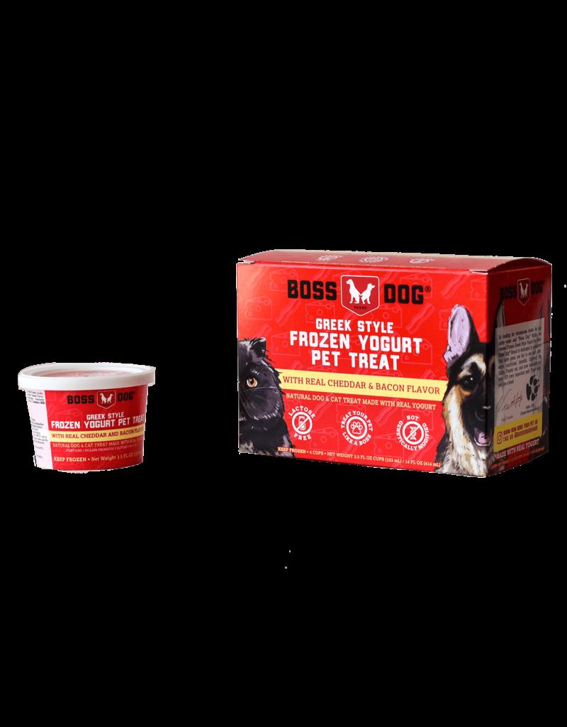 Boss dog Frozen Yogurt Cheddar & Bacon 4 Pack