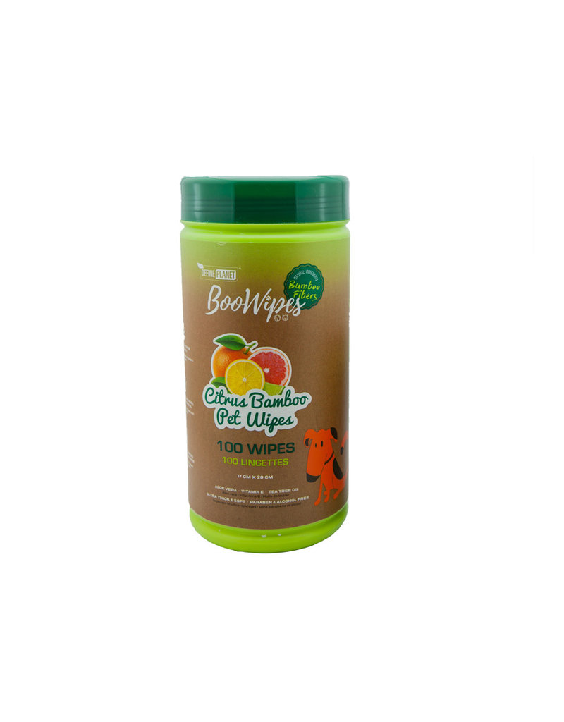 Define Planet Boowipes Citrus Bamboo Wipes 100ct