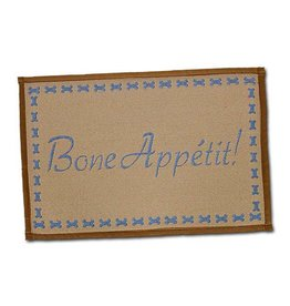 Loving Pets Bella Food & Water Mat Bone Appetit