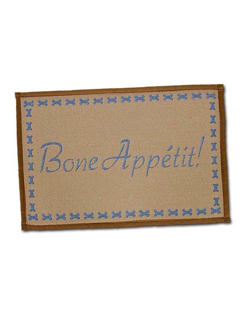Loving Pets Bella Food & Water Mat Bone Appetit