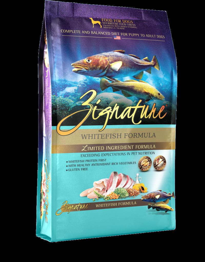 Zignature Whitefish Formula