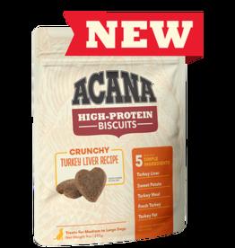 Acana High Protein Biscuits Turkey Liver 9oz