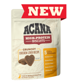 Acana High Protein Biscuits Chicken Liver 9oz