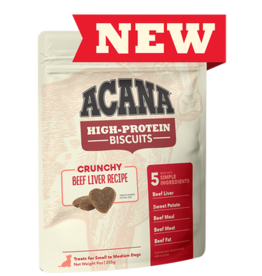 Acana High Protein Biscuits Beef Liver 9oz
