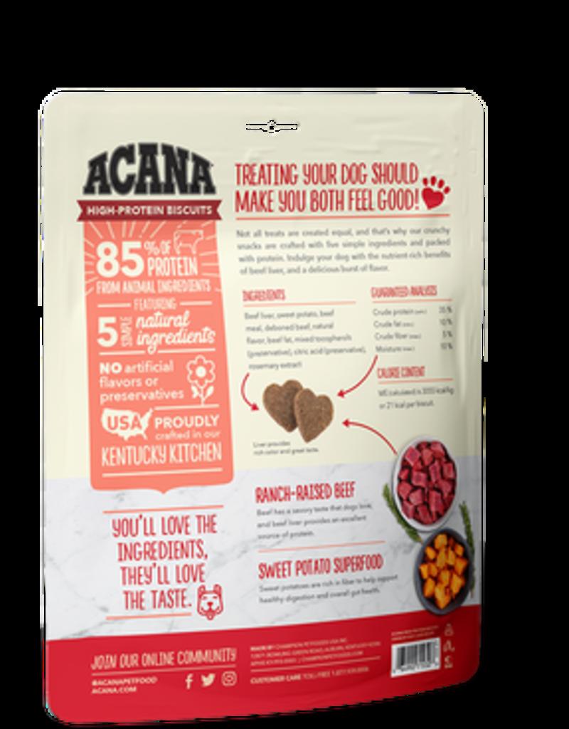 Acana High Protein Biscuits Beef Liver 9oz