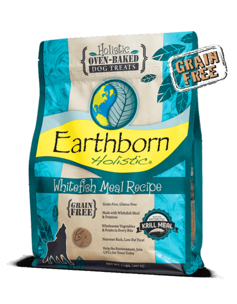 Earthborn Oven Baked Whitefish Treats